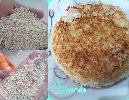 قیمت برنج نیم دانه